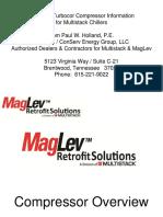 MagLev Oil Free Compressor for Multistack Chillers PP 12-18-13