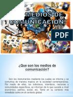 Ppt Medios de Comunicacic3b3n