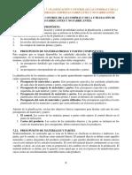 Resumen, Capítulo 7 Presupuestos Welsch