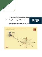 Decommissioning Programme  Harding Submerged Turret Loading System