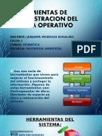 Herramientas de Administracion Del Sistema Operativo
