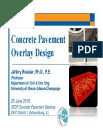 Roesler Concrete Overlays ISCP Seminar June 25 2015 A