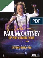 Paul in Brazil Poster Oficial