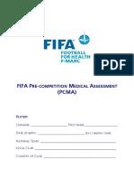 Fifa Pcma Form