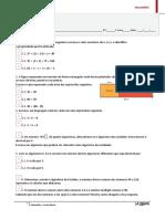 Teste Matemática1