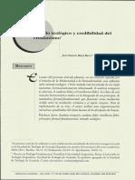 [2014] Método Teológico y Credibilidad Del Cristianismo