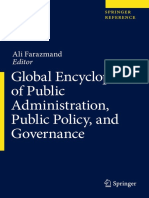 Global Encyclopedia of Public Administration Public Policy and Governance