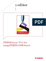 PRISMAsync v5.1 for IPR C850 Series Settings Editor 070116