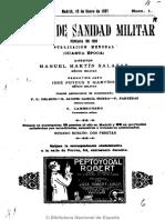 Revista de Sanidad Militar (Madrid. 1911). 15-1-1927
