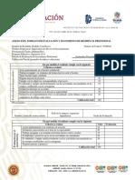 Anexo XXIX Formato de Evaluación y Seguimiento de R. P.