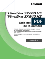 PowerShot SX260 HS SX240 HS CameraUserGuide ES v1.0