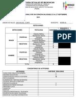 Formato Reporte Sncs
