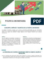 Politica Economica Exposicion
