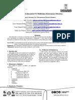 Plantilla Artículo IEEE Informe Laboratorio (2)RESISTENCIA (1)