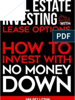 Real Estate Investing With Lease Options How to Invest With No Money Down Chapter1