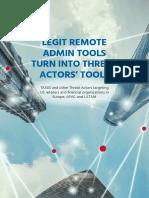 Legit Remote Admin Tools