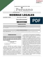 Decreto de Urgencia Que Aprueba Medidas Para La Realizacion Decreto de Urgencia n 002 2019 1815007 1