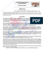 Decreto Comite Control Interno 020