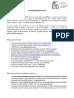 ACEID - Curriculo Organizacional 2018