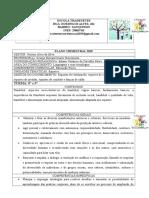 Plano TRIMESTRAL Educação Física