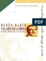 Ruben Dario y El Arte de La Prosa Ensayo Retratos y Alegorias