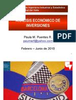 1 Clase 1. Evaluacion Economica y Fra - Generalidades Parte I