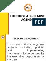 Executive Legislative Formulation