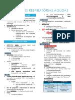 PED - Infecções Respiratórias Agudas