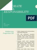 CSR (Corporate Social Responsibility)