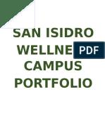 San Isidro National High School Wellness Report