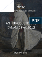 An Introduction to Dynamics AX 2012