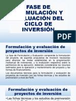 formulacion y evaluacion del proyecto