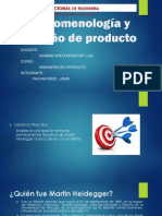 Fenomenología y Diseño de Producto