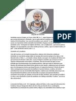 Biografía de Aristóteles