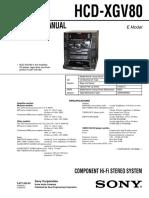 Sony Hcd-xgv80 Ver-1.1 (1)