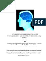 What the Consumer's Brain