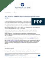 EMA Statement on NDMA 1