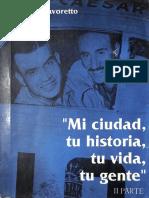 O Mi Ciudad Tu Historia Tu Vida Tu Gente - II Parte - Favoretto
