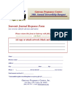 Ad Journal Banquet 2019 Ad Response Form