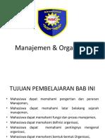 16 Manajemen Dan Organisasi 20151228