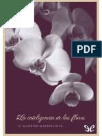 (Maurice Maeterlinck) - La Inteligencia de Las Flores