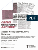 Access Newspaper ARCHIVE Database