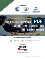 XII Sistemas Integrados de Gestión Auditor Interno HSEQ 06-07-2019