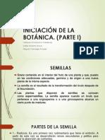 Iniciación de La Botánica