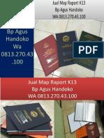 WA 0813.270.43.100, Jual Cover Raport SD di Stabat Sumatra Utara