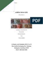 Proposal Home Industri SH2-Aneka Kue