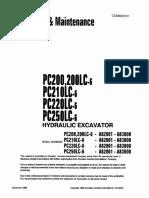 PC200LC-6 (USA) Operation Manual