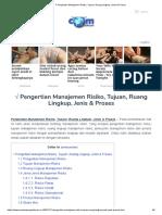 Pengertian Manajemen Risiko, Tujuan, Ruang Lingkup, Jenis & Proses.pdf