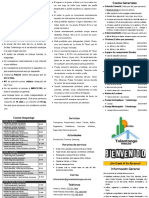 Folleto Informativo Grutas Tolantongo