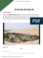 Huacachina_ Al Rescate Del Oasis de América _ LaRepublica